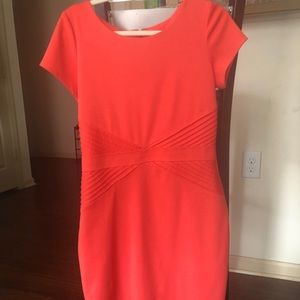 Peach Ellen Tracy Dress